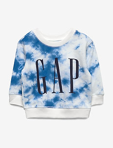 Baby Gap Logo Tie-Dye Sweatshirt - sweaters - tie dye