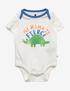 Baby Graphic Short Sleeve Bodysuit - À manches courtes - new off white