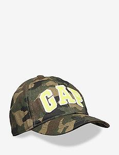 Kids Gap Logo Camo Baseball Hat - caps - green camo