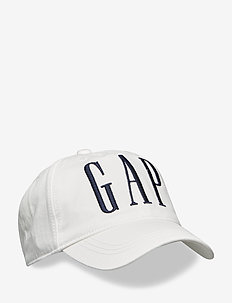 Kids Embroidered Gap Logo Baseball Hat - casquettes - ivory frost
