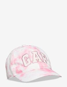 Kids Gap Logo Tie-Dye Baseball Hat - caps - pink tie dye