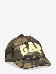 Toddler Camo Gap Logo Baseball Hat - caps - green camo