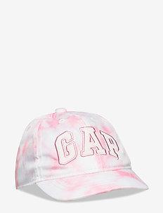 Toddler Gap Logo Tie-Dye Baseball Hat - caps - pink tie dye