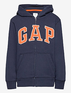 V-NEW FZ GAP ARCH HOOD - hoodies - blue galaxy