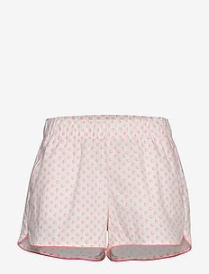 Print Shorts in Poplin - szorty - coral shells