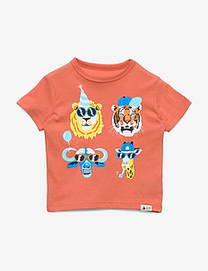 Toddler Graphic Short Sleeve T-Shirt - MIAMI CORAL