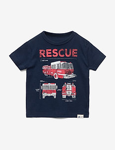 Toddler Graphic Short Sleeve T-Shirt - TAPESTRY NAVY