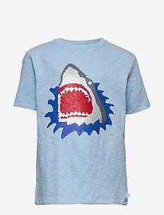 Kids Flippy Sequin T-Shirt - kortærmede - blue focus