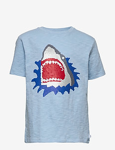 Kids Flippy Sequin T-Shirt - krótki rękaw - blue focus