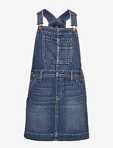Kids Denim Skirtall - kjoler - medium indigo 8