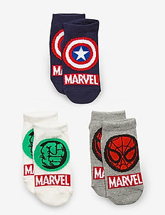 GapKids | Marvel No-Show Socks (3-Pack) - chaussettes - multi