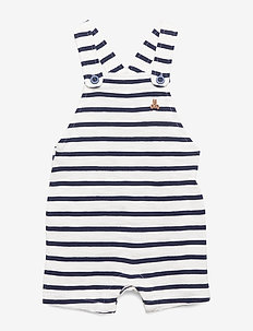 Baby Shortalls - dungarees - new off white
