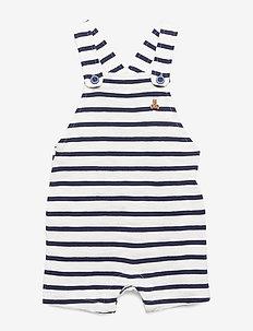 Baby Shortalls - salopettes - new off white