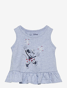 babyGap | Disney Minnie Mouse Graphic Tank Top - sleeveless tops - minnie mouse