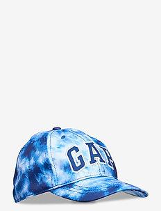 B TD LOGO BBH - chapeau de soleil - blue tie dye