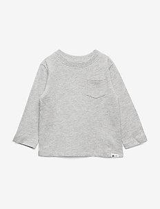 Toddler Long Sleeves Shirt - langärmelige - light heather grey b08