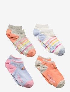 Toddler Rainbow No-Show Socks (4-Pack) - skarpetki - multi
