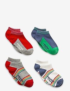 Toddler Rainbow No-Show Socks (4-Pack) - chaussettes - multi