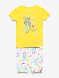 babyGap Mermaid Short PJ Set - sets - yellow sun