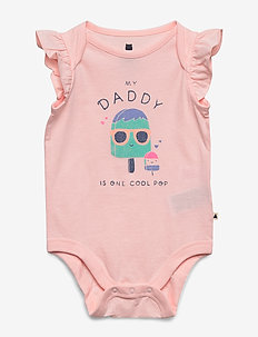 Baby Mix and Match Family Bodysuit - kortærmede - dad 673