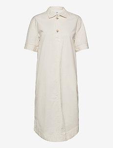 Midi Shirtdress - shirt dresses - ivory frost
