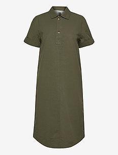 Midi Shirtdress - shirt dresses - olive 005
