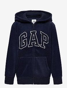 Kids Gap Logo Hoodie - bluzy z kapturem - tapestry navy