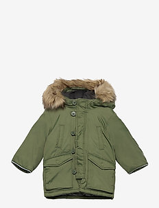Toddler ColdControl Ultra Max  Snorkel Jacket - puffer & padded - desert cactus