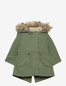 Toddler 3-in-1 Jacket - parkas - cargo green