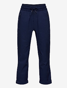 Kids Hybrid Pull-On Pants with QuickDry - sweatpants - military blue v2