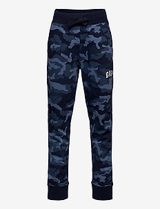 FRANCHISE FT LOGO SWEATPANT - joggingbroek - blue camo