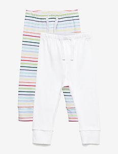 Baby First Favorite Stripe Knit Pants (2-Pack) - bukser - multi stripe