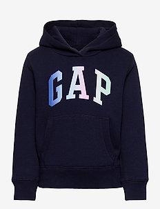 Kids Gap Logo Hoodie - huvtröja - navy uniform