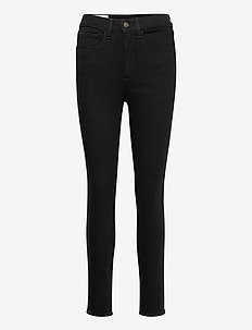 High Rise Universal Jegging with Secret Smoothing Pockets - slim jeans - black rinse