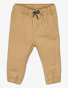 Toddler Pull-On Everyday Joggers with Washwell™ - trousers - new british khaki