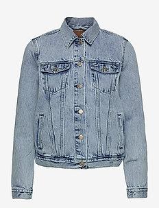 Icon Denim Jacket With Washwell™ - denimjakker - light denim
