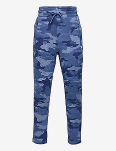 GapFit Kids Fit Tech Coziest Fit Joggers - sweatpants - blue camo