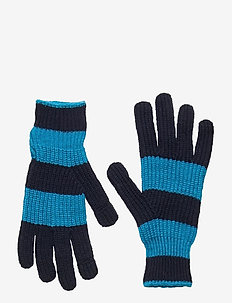 Smartphone Gloves - gloves - arcticblue navy stripe