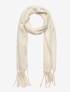Brushed Scarf - sjaals - ivory frost