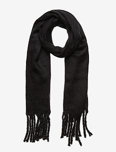 Brushed Scarf - scarves - true black