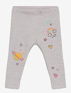 Toddler 3D Coziest Leggings - leggingsit - light heather grey b08