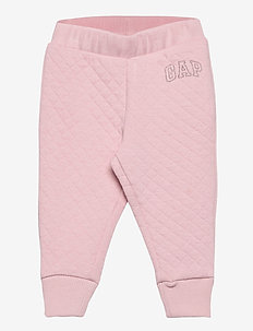 QUILTED COZY LOGO JOGGER - nederdelar - pure pink