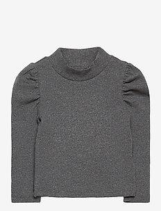 Toddler Turtleneck Shirt - lange mouwen - b50-b10 charcoal grey