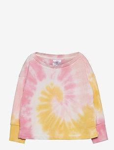 Toddler Tie-Dye Sweatshirt - sweatshirts - yellow tie dye