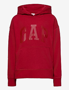 FT INTL ARCH PO HD - hoodies - admiral red