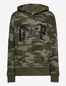 FT INTL ARCH PO HD - hoodies - green camo