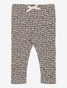 Baby Mix and Match Waffle-Knit Pants - trousers - new sly stone/white