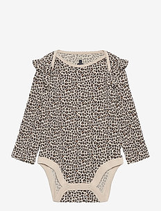 Baby Mix and Match Ruffle Bodysuit - long-sleeved - new sly stone v2