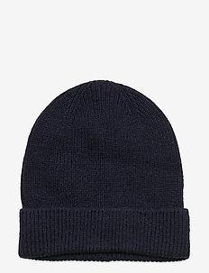 Rib Beanie - kapelusze - tapestry navy