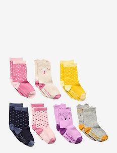 Toddler Critter Crew Socks (7-Pack) - skarpetki - multi